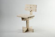 Galería de Hamaika, una silla de 11 piezas iguales destinada a que los niños se involucren en su proceso constructivo - 1