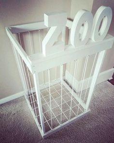 Peluche animales Zoo  almacenamiento de por PersonallyTreasured