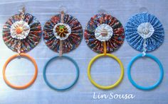 Cd Diy, Cd Crafts, Shibori, Repurposed, Crochet Earrings, Recycling, Projects To Try, Creative, Handmade