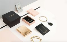 Bing Bang Jewelry branding and packaging design by Verena Michelitsch, an Austrian Graphic Designer and Illustrator based in New York City.