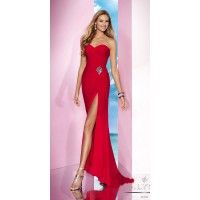 Romantic Sweetheart Strapless Dress Alyce 35622