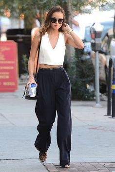 Jamie Chung Style - Out in West Hollywood, January 2015