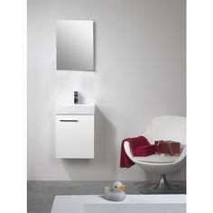 Kylpyhuonekaluste Mini 45 valkoinen