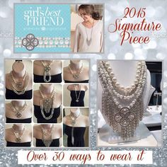 Girl's Best Friend, Premier Designs signature piece for 2015-2016.  View the full catalog online: sarakranz.mypremierdesigns.com ~ Contact me to get your Premier Designs exclusives!