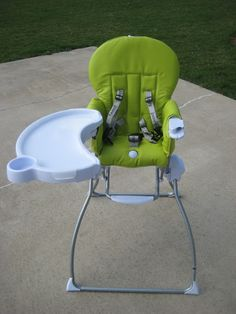 The Pod Is A Lightweight, Portable High Chair From Mountain Buggy That  Attaches To A Table. It Comes In Lime Green For A Stylish Look | Our Baby |  Pinterest ...
