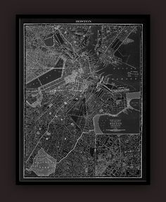 Based on lithographs published in an atlas of the early 1900s, when the world was on the cusp of the Industrial Revolution.  Our archival reproductions of New York City,Chicago, Los Angeles,Boston, Seattle, San Diego, Dallas,San Francisco and Tokyo are printed in shades of grey to highlight the abstract beauty of the cartographer's art.