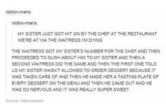 Why doesn't this sort of thing happen to me?