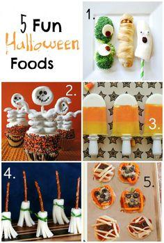 5 Fun Halloween Foods