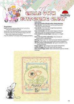 The Girls Own Stitching Club.