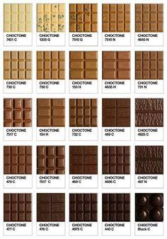 Pantone chocolate!