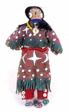 Lakota Sioux Ghost Dance Double Doll : Lot 172