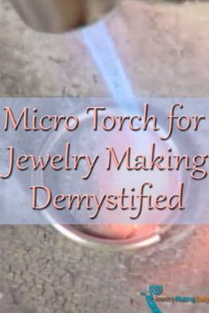 Jewelry Making Projects You Have to Make Using a micro torch for jewelry making is demystified in this FREE video on fusing wire links and more!Using a micro torch for jewelry making is demystified in this FREE video on fusing wire links and more! Crystal Jewelry, Metal Jewelry, Diy Jewelry, Handmade Jewelry, Fashion Jewelry, Jewlery, Silver Jewelry, Jewelry Kits, Recycled Jewelry