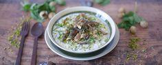 Qooking.ch | Porridge à la marocaine C'est Bon, Oatmeal, Breakfast, Food, Lunch Recipes, Salads, The Oatmeal, Morning Coffee, Rolled Oats
