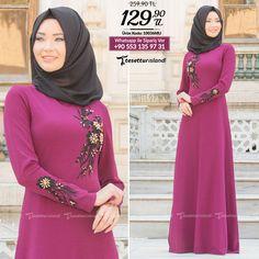 Neva Style - Mürdüm Tesettür Abiye Elbise 10036MU #tesettur #tesetturabiye #tesetturgiyim #tesetturelbise #tesetturabiyeelbise #kapalıgiyim #kapalıabiyemodelleri #şıktesetturabiyeelbise #kışlıkgiyim #tunik #tesetturtunik