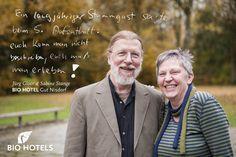 Ihre Gastgeber Jürg Gloor und Sabine Stange von #biohotel Gut Nisdorf #ostsee #familienhotel