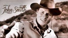 Every girl should be in love with him. John Smith Actor, Actor John, Beautiful Horses, Beautiful People, Laramie Tv Series, Robert Fuller, The Rifleman, Best Hero, The Virginian