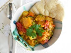 Roasted Vegetable Curry...sweet, savory and warm.
