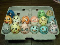 15 Pokémon-themed Easter eggs by Flickr user Taylor Sullivan (Yaltro).