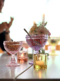 iittala × marimekko Glass Company, Marimekko, Fun Drinks, Scandinavian Design, Cool Designs, House Design, Dining, Tableware, House Goals