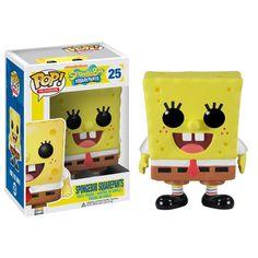 Figurine Pop! Bob L'Eponge Spongebob Vinyl 10 cm #Logostore