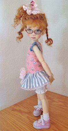 Drop Waist Dress Set Fits Kaye Wiggs MSD Body Mei Mei and Talyssa Body by DCH | eBay Pretty Dolls, Cute Dolls, Beautiful Dolls, Dress Set, Baby Dress, Little People, Little Girls, My Doll House, Realistic Baby Dolls