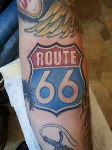 Really want the Route 66 sign in my sleeve
