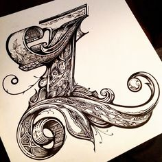 One L of a letter.... Finished in all its glory. A mahoosively overly detailed…