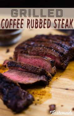 Repurpose your coffee grounds and add a lil' caffeine to your steak - it literally makes the most delicious seasoning!