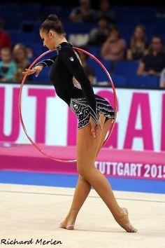 Monija Cebasek (Slovenia), World Championships (Stuttgart) 2015
