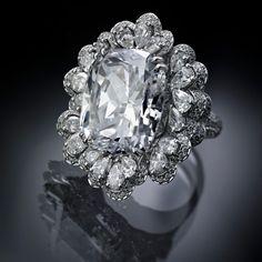 Chopard Garden of Kalahari 20 carat diamond ring