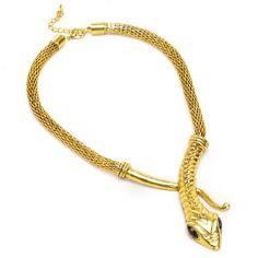 Vintage Golden Vivid Snake Style Pendant Necklace ComeOnBuying http://www.amazon.com/dp/B008S4VXSI/ref=cm_sw_r_pi_dp_pklStb06JM8S346B