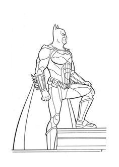 Ausmalbild Batman zum kostenlosen Ausdrucken und Ausmalen.  #Ausmalbilder | #Malvorlagen | #Batman | #Kindergarten | #Coloring | #ColoringPages Batman 2, Bob Kane, Gotham City, Memes, Inspiration, Kindergarten, Comic Art, Enemies, Martial Arts