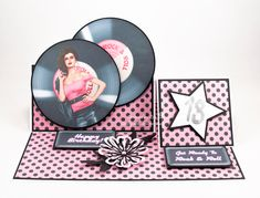 I made this birthday card for my nieces birthday back in August using Rock and Roll Inspirational cd rom from Debbi Moore Designs. Rock And Roll Birthday, Debbie Moore, Image Sheet, Love Tag, Inspirational Videos, Handmade Birthday Cards, Card Designs, Fairy Tales, 18th