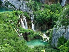 The Plitvice Lakes National Park, Croatia's most popular tourist attraction, was granted UNESCO World Heritage status in 1979. Description from photographywallpaperhd.blogspot.com. I searched for this on bing.com/images