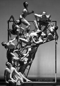 "Eifman Ballet of St. Petersburg - Boris Eifman's reenactment of ""Gates of Hell"" by Rodin. Photo by Gene Schiavonne. S)"