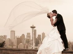 I would love to go home and get married in Seattle but that comes second to getting married in New York.
