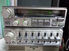 PIONEERロンサム・カーボーイ Pioneer Car Stereo, Vanz, Audio Design, Boombox, Audio Equipment, Audiophile, Car Audio, Vintage Cars, Barrel