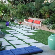 50 Unusual Outdoor Patio Design Ideas for Backyard Modern Front Yard, Front Yard Design, Modern Patio, Modern Landscaping, Patio Design, Landscaping Software, Contemporary Patio, Landscaping Company, Home Design