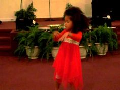 Let Your Anointing Fall is gorgeous...need to get the CD and this is so moving, seeing a child dance for Jesus!
