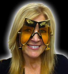 Champagnes Sunglasses - Gold