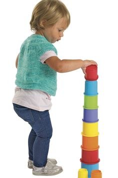 Little ones will love playing with our brightly colored Stack 'n' Nest Cups! Sensory Blocks, Stem Curriculum, Discount School Supply, Sand And Water, Cupping Set, Creative Thinking, Fine Motor Skills, Little Ones, Nest