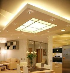 82 best Drop Ceiling images on Pinterest   Roof design  Ceiling     translucent suspended ceiling   Google Search  Kitchen Ceiling LightsKitchen