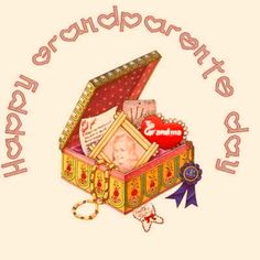 Happy Grandparents Day National Grandparents Day, Happy Grandparents Day, Glitter Graphics, Craft Gifts, Mom And Dad, Holiday, Vacation, Handmade Gifts, Holidays