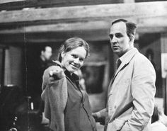 Liv Ullmann and Ingmar Bergman Fanny And Alexander, Ziegfeld Girls, Ingmar Bergman, Famous Couples, Perfect Couple, Film Stills, Film Director, Best Actress, On Set
