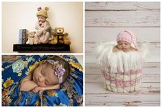 Gemini Visuals Creative Photography // White Rock/South Surrey, BC, Canada // www.geminivisuals.com |  white rock newborn baby photography collage
