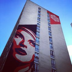 Obey - Rue Jeanne d'Arc 13e #Paris