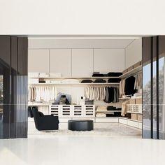 Fancy - Stack Walk-In Wardrobe by Molteni & C