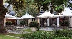 Grande Provence Winery in Franchoek. quite divine! Wine Tourism, Lush Garden, Wine List, Al Fresco Dining, Outdoor Rooms, Provence, South Africa, Gazebo, Beautiful Places