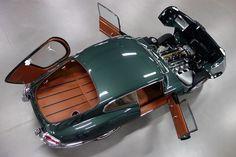 JAGUAR E-TYPE S1 3.8 COUPÉ 1966 British Racing Green met…