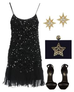 """""""Untitled #838"""" by mchlap on Polyvore featuring RED Valentino and Yves Saint Laurent"""
